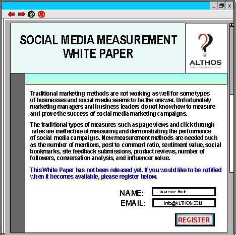 whitepaper alert web page image